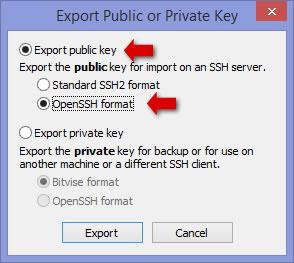 How to Use Private/Public SSH Keys With Adobe Dreamweaver