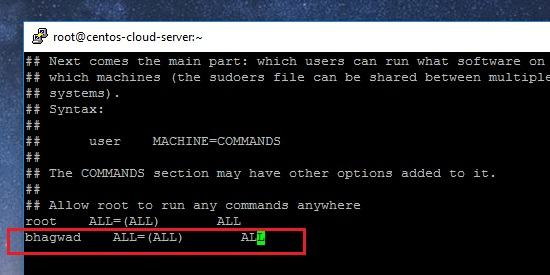 How to Add a User to Sudoers in CentOS Linux