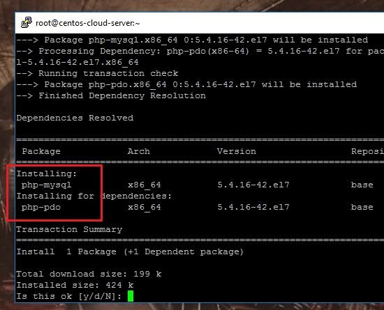 CENTOS PHP PDO MYSQL DRIVER DOWNLOAD (2019)