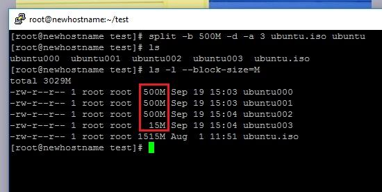 How to Split and Join Large Files in Linux