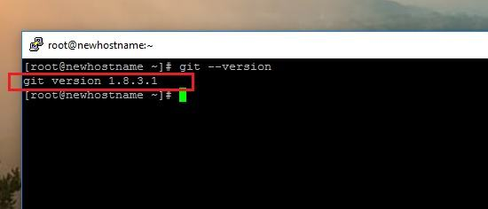 How to Install the Latest Version of GIT on CentOS 7