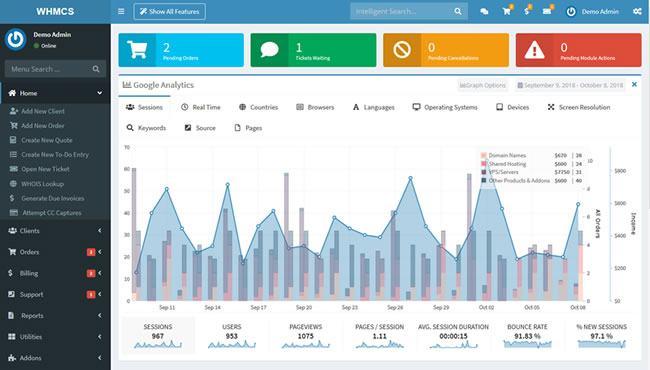 WHMCS - Reseller Hosting Billing Software
