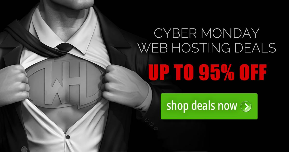 Black Friday Web Hosting Deals 2018 - How to Save 95% OFF